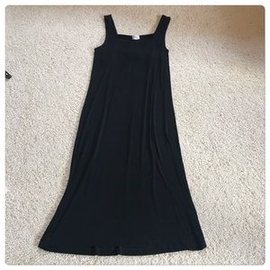 Chico's Beautiful Black Sleeveless Travelers Dress
